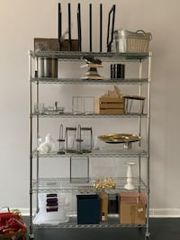 Shelving System with wheels