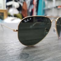 occhiali da sole aviator Ray-Ban color argento Crispano, 80020