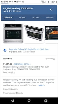black stainless steel frigidaire gallery electric  Chattanooga