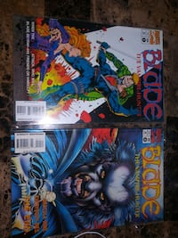 Blade the Vampire Hunter comic book issue 9 and 10