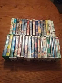 Assorted Disney vhs movies
