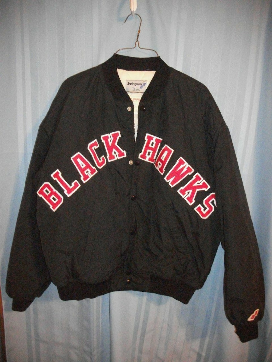 Photo Chicago Blackhawks jacket coat