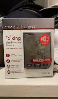 Talking blood pressure monitor San Jose, 95111