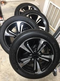 "16"" Honda Civic 2015 OEM wheels and Hankook Tires Silver Spring, 20904"
