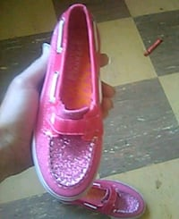 Size 12 girl Sperry Top Sider Shoes 227 mi