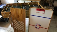 brown and white wooden foosball table Westerville, 43081