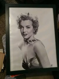 Marilyn Monroe canvas