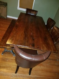 Dining table/ chairs/ bench Woodbine, 21797
