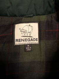 Renegade Green Outerwear Men's Jacket. 2395 mi