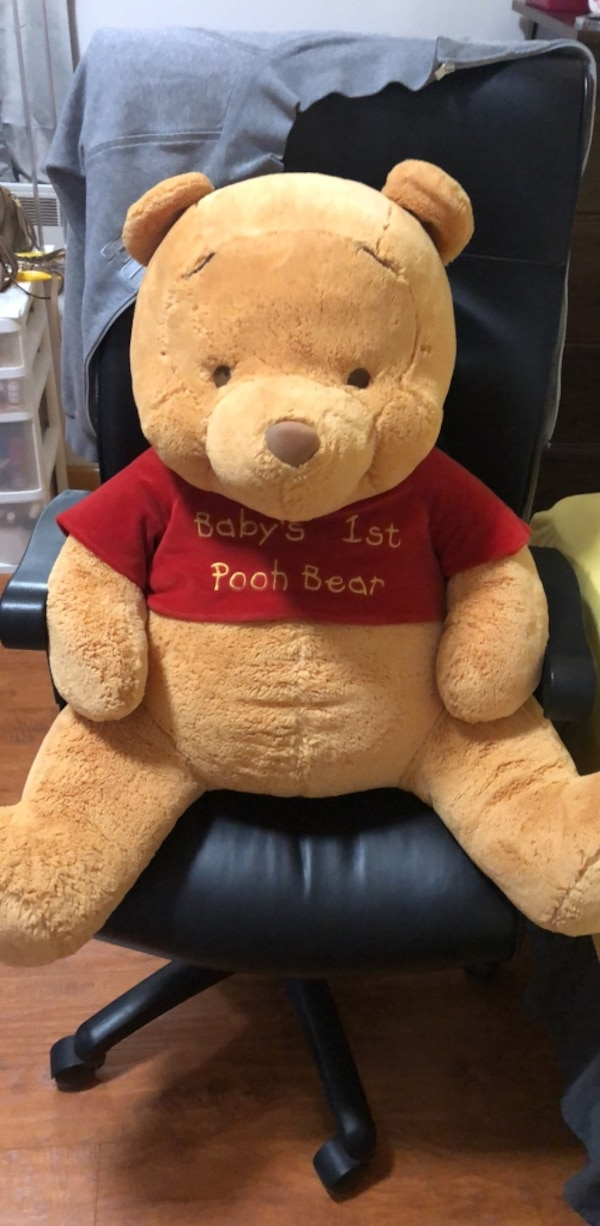 620f50b7053f Used Giant Winnie the Pooh plush toy for sale in New York - letgo