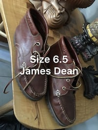 James Dean collection leather booties size 6.5  Vancouver, V5X