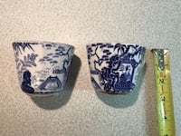 Two Royal Crown Derby Mikado Cups