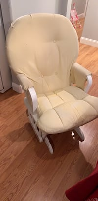 Free rocking chair. It's clean but old. Comes with foot rest  San Mateo, 94403