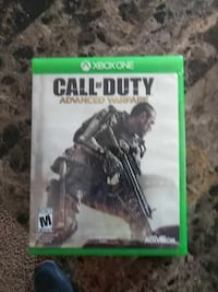 Call of Duty Advanced Warfare Xbox One game case