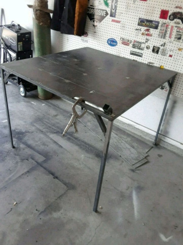 Welding Table For Sale >> Welding Table 4x4 Ft 3ft Tall