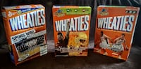 Superbowl wheaties boxes 85..00 obo