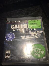 PS3 Call of Duty Ghosts game case Vaughan, L6A 1B4
