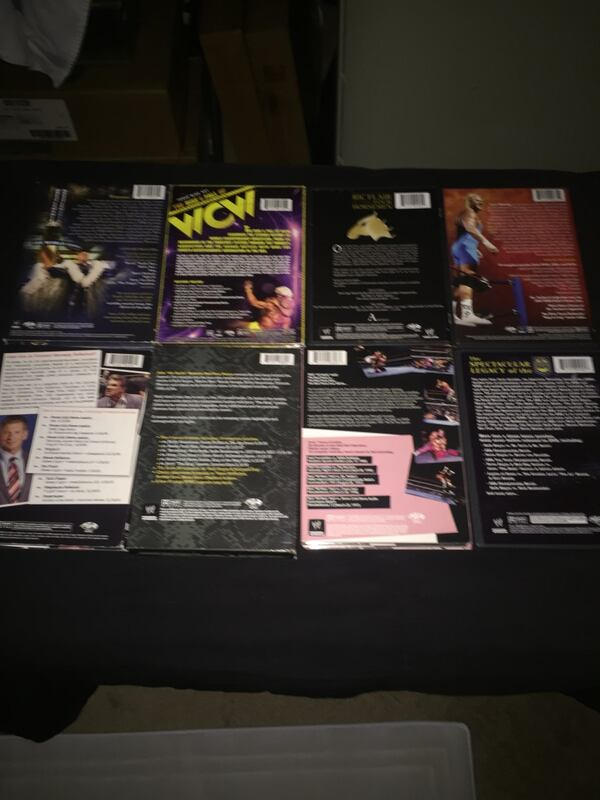 Pro Wrestling (WWE / WCW / AWA) DVD Collection All Pre-Owned & Tested 9ff1e68e-d1bc-45c0-beb9-285e0bd171aa