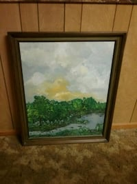 Framed oil painting Charlotte, 28269