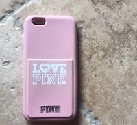 Custodia in silicone rosa victoria's secret per iPhone 6/6s 7147 km
