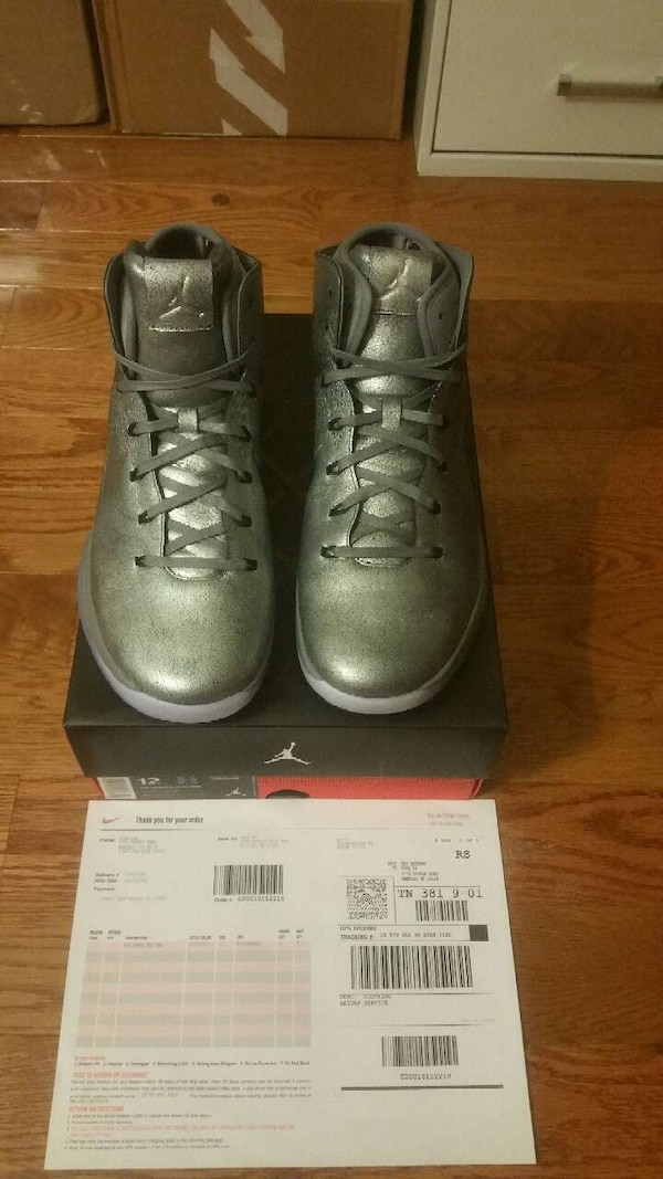 bf3c3e232bfa03 Used Air Jordan 31 Battle Grey Size 12.5 for sale in Raleigh - letgo