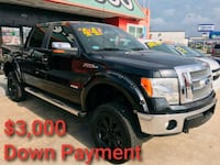 2011 ford f-150 Lariat 3,000 Down Payment Houston