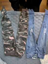 Women's and kids clothing.