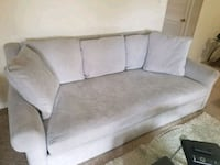 gray fabric 2-seat sofa Burke, 22015