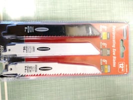 New pack of recipacal saw blades