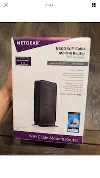 Netgear N300 Wifi cable modem router Washington, 20002