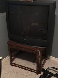 TV and stand  Coquitlam, V3E 3N2