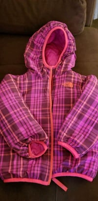 Girls THE NORTH FACE double sided Jacket  Rockville