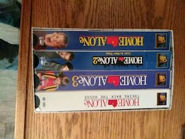 Home alone all four VHS