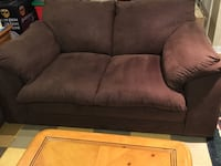 Like new microfiber love seat brow  North Chesterfield, 23114