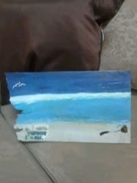 Beach scape painting Hamilton Township, 08629