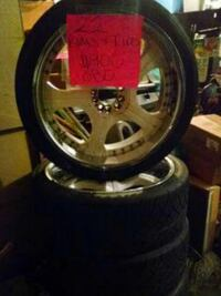 """22"""" rim's and tires"""