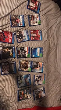 Ps4 games 10 each some are more(Spider-Man,fallout 76,watch dogs 2, cod ww2) Toronto, M4K 2N7