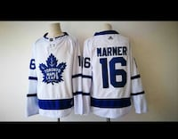 white-and-blue Toronto Maple Leafs Marner 16 jerse Toronto, M6L 1A4