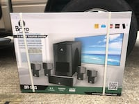 Brand New Complete Home Theatre System with Projector and Screen  Houston, 77007