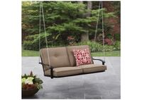 Mainstays Belden Park Outdoor Porch Swing with Cushion, Seats 2 *NEW IN BOX* Round Rock, 78665