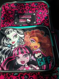 Monster High suitcase with wheels Tuscaloosa, 35405