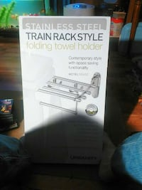 Folding towel holder Strathroy, N7G 2W2