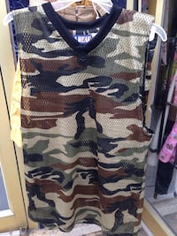 New Large CamoJersey outfit
