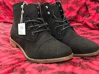 Ladies faux suede boots 8WM Bayfield, 81122