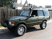 """1998 Land Rover Discovery, """"OFF-ROAD"""" $1998 or bes Golden, 80401"""