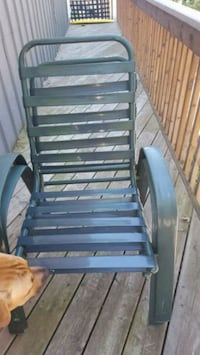 4 Green Chairs..price drop Wasaga Beach