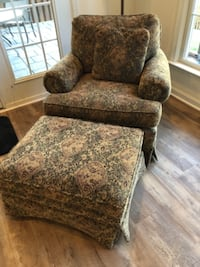 Clayton Marcus chair and ottoman  Lansdowne