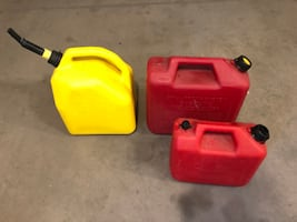 Gasoline tanks 1/5gallon, 1/2.5gallon
