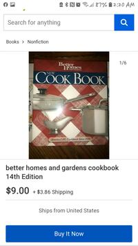 Better Homes and Gardens 14th Edition cookbook