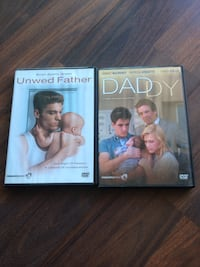 two Unwed Father and Daddy DVD cases Toronto, M4G